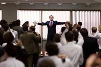 THE WOLF OF WALL STREET, center: Leonardo DiCaprio, 2013, ph: Mary Cybulski/©Paramount Pictures