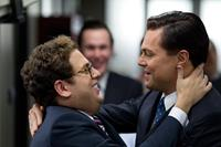 THE WOLF OF WALL STREET, l-r: Jonah Hill, Leonardo DiCaprio, 2013, ph: Mary Cybulski/©Paramount Pictures