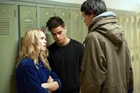 THE LESSER BLESSED, from left: Chloe Rose, Kiowa Gordon, Joel Evans, 2012. ©Monterey Media