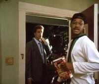 MADE IN AMERICA, Ted Danson, Will Smith, 1993, doorway