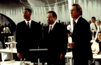 MEN IN BLACK, Will Smith, Rip Torn, Tommy Lee Jones, 1997, headquarters