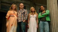 HELL BABY, l-r: Leslie Bibb, Rob Corddry, Riki Lindhome, Keegan Michael Key, 2013, ©Millenium Entertainment