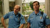 HELL BABY, l-r: Paul Scheer, Rob Huebel, 2013, ©Millenium Entertainment