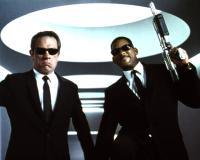 MEN IN BLACK, Tommy Lee Jones, Will Smith, 1997