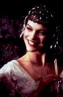 CHAPLIN, Milla Jovovich, 1992, straw