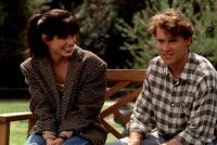 LOVE POTION NO. 9, Sandra Bullock, Tate Donovan, 1992, bench