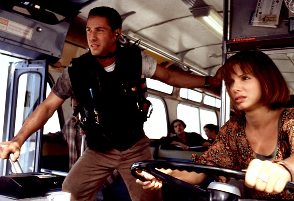 SPEED, Keanu Reeves, Sandra Bullock, 1994,  TM and Copyright © 20th Century Fox Film Corp. All rights reserved..