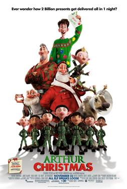 Arthur Christmas - A Family Favourites Presentation