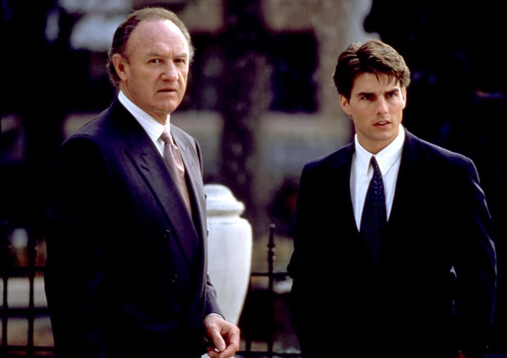 FIRM, THE, Gene Hackman, Tom Cruise, 1993