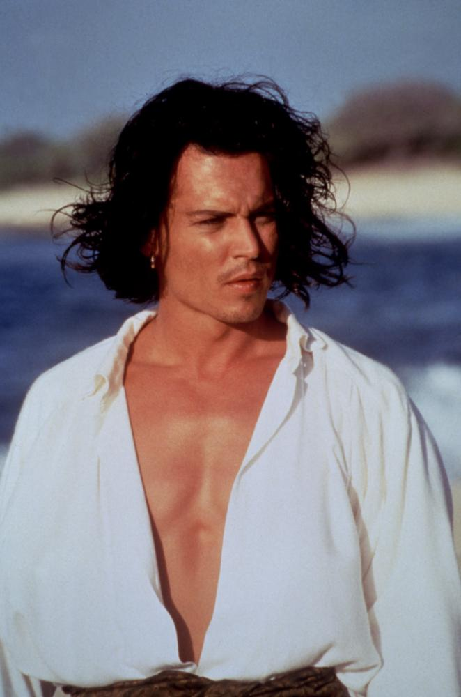 DON JUAN DEMARCO, Johnny Depp, 1995, open shirt