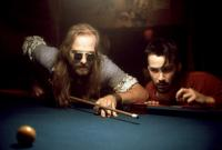I LOVE YOU TO DEATH, William Hurt, Keanu Reeves, 1990, pool table