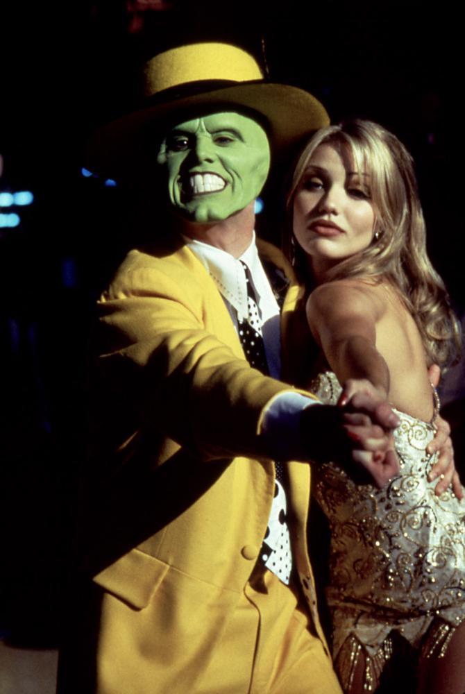 THE MASK, Jim Carrey, Cameron Diaz, 1994