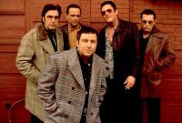 DONNIE BRASCO, Al Pacino, James Russo, Bruno Kirby, Jr., Michael Madsen, Johnny Depp, 1997