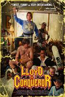 LLOYD THE CONQUEROR, international poster art, clockwise from top: Evan Williams, Tegan Moss, Jesse Reid, Mike Smith, Harland Williams, Brian Posehn, Scott Patey, 2011.