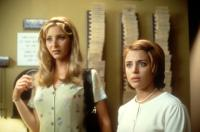 CLOCKWATCHERS, Lisa Kudrow, Alanna Ubach, 1998, time clock