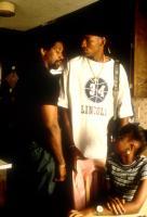 HE GOT GAME, Denzel Washington, Ray Allen, Zelda Harris, 1998, sweatshirt