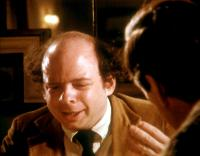 MY DINNER WITH ANDRE, Wallace Shawn, 1981, explaining