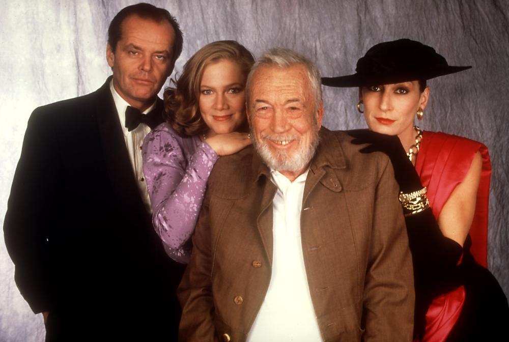 PRIZZI'S HONOR, Jack Nicholson, Kathleen Turner, John Huston, Angelica Huston, 1985