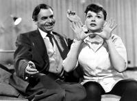 A STAR IS BORN, James Mason, Judy Garland, 1954