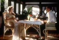 TITANIC, Kate Winslet, Billy Zane, 1997, breakfast.  TM and Copyright (c) 20th Century Fox Film Corp. All rights reserved..