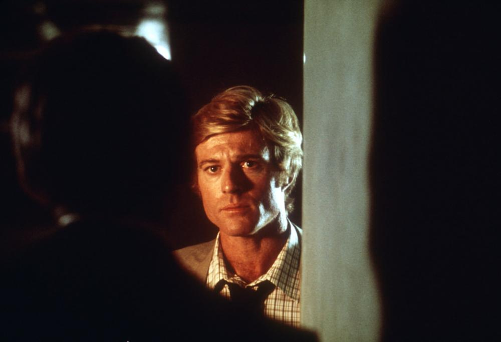 ALL THE PRESIDENT'S MEN, Robert Redford, Hal Holbrook, 1976