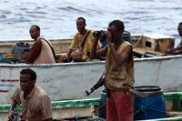 CAPTAIN PHILLIPS, from left: Barkhad Abdirahman, Barkhad Abdi, 2013. ph: Hopper Stone/©Columbia Pictures