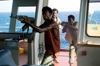 CAPTAIN PHILLIPS, from left: Faysal Ahmed, Mahat Ali, Barkhad Abdirahman, 2013. ph: Jasin Boland/©Columbia Pictures
