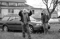NEBRASKA, from left: Bruce Dern, Will Forte, 2013. ©Paramount Pictures