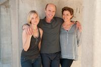 THE FACE OF LOVE, from left: Jess Weixler, Ed Harris, Annette Bening, 2013. ph: Dale Robinette/©IFC Films