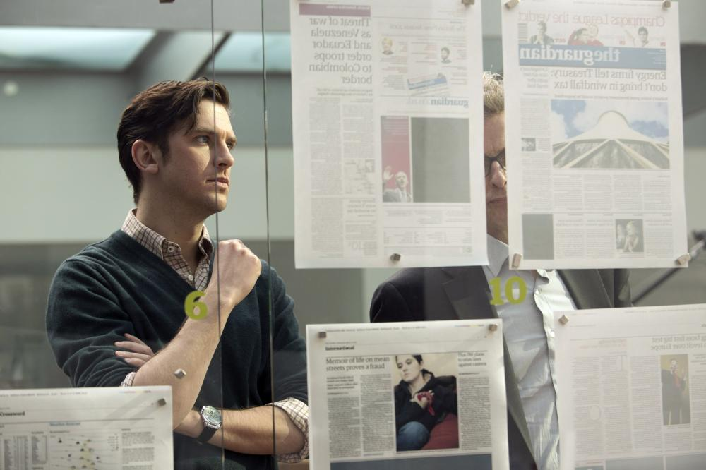 THE FIFTH ESTATE, Dan Stevens, 2013. ph: Frank Connor/©Touchstone Pictures