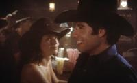 URBAN COWBOY, John Travolta, 1980, at a bar