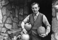 ZELIG, Woody Allen, 1983, with pumpkins