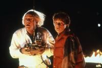 BACK TO THE FUTURE, Christopher Lloyd, Michael J. Fox, 1985. (c) MCA/Universal Pictures -.