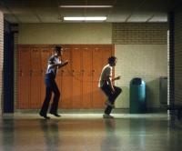 FOOTLOOSE, Christopher Penn, Kevin Bacon, 1984, dancing