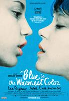 BLUE IS THE WARMEST COLOR, (aka BLUE IS THE WARMEST COLOUR, aka LA VIE D'ADELE), Canadian poster art, Adele Exarchopoulos, Lea Seydoux, 2013. ©Sundance Selects