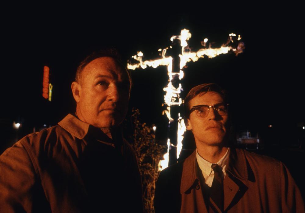 MISSISSIPPI BURNING, Gene Hackman, Willem Dafoe, 1988. ©Orion Pictures