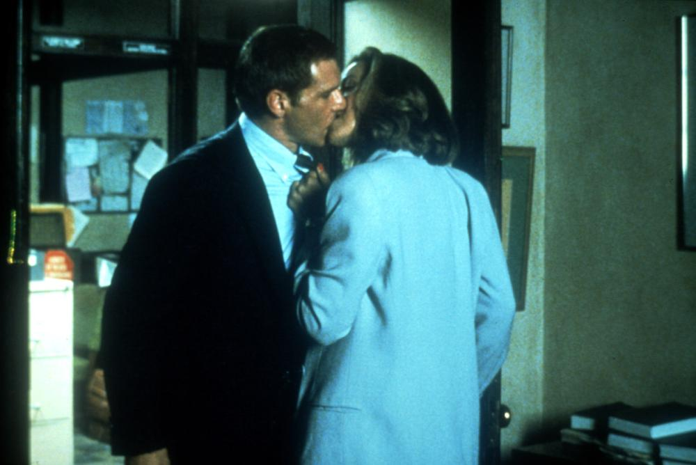 Merveilleux PRESUMED INNOCENT, Harrison Ford, Greta Scacchi, 1990