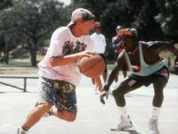 WHITE MEN CAN'T JUMP, Woody Harrelson, Wesley Snipes, 1992. TM and Copyright (c) 20th Century Fox Film Corp. All rights reserved..