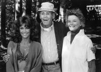 ON GOLDEN POND, Jane Fonda, Henry Fonda, Katharine Hepburn, 1981