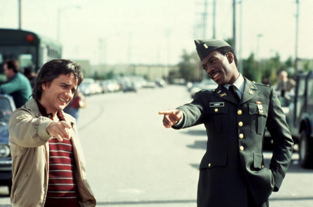 BEST DEFENSE, Dudley Moore, Eddie Murphy, 1984