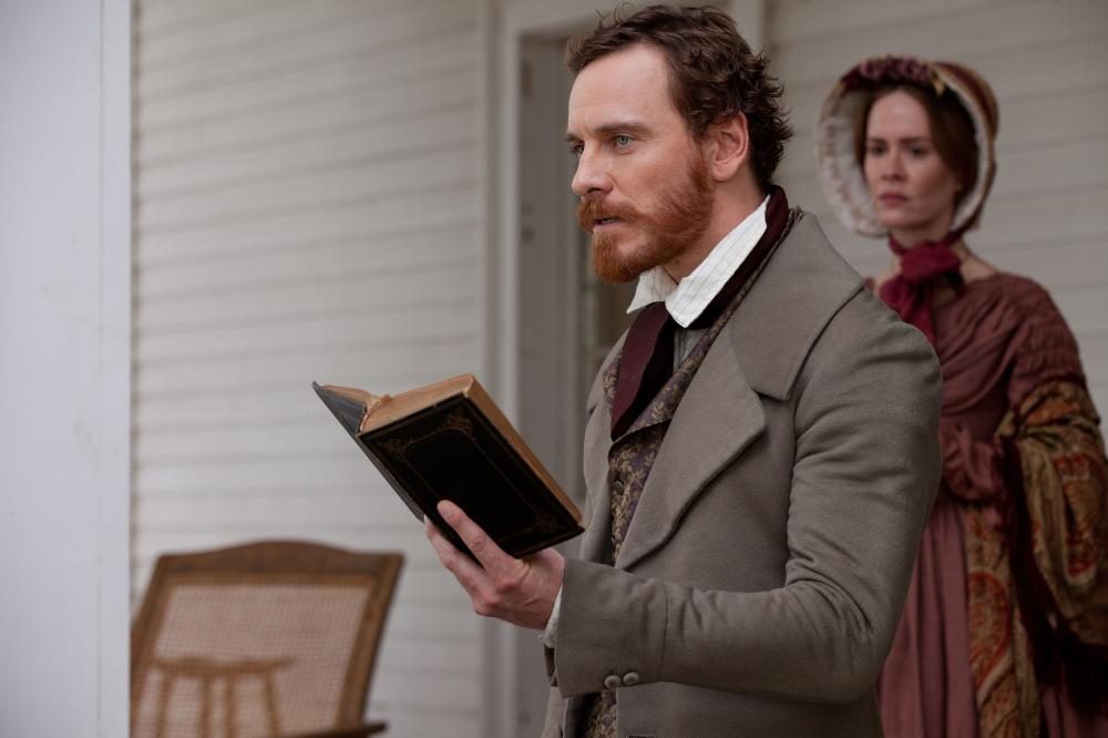12 YEARS A SLAVE, l-r: Michael Fassbender, Sarah Paulson, 2013, ph: Francois Duhamel/TM and Copyright ©Fox Searchlight Pictures. All rights reserved.