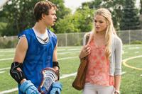 CARRIE, from left: Ansel Elgort, Gabriella Wilde, 2013. ph: Michael Gibson/©Sony Pictures