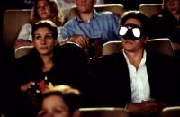 NOTTING HILL, Julia Roberts, Hugh Grant, 1999, in the movie theater