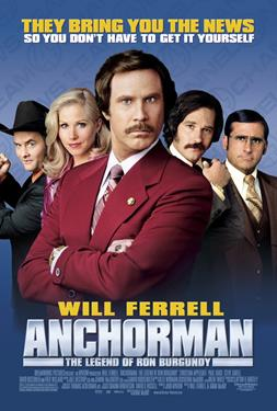 Anchorman - A Most Wanted Movies Presentation