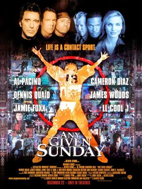 Nolitours Rushes Football Film Festival - Any Given Sunday