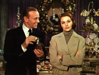 SILK STOCKINGS, Fred Astaire, Cyd Charisse, 1957, at the purfume counter