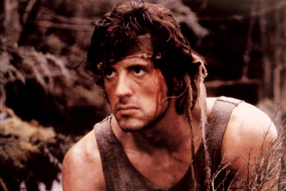 FIRST BLOOD, Sylvester Stallone, 1982, (c) Orion