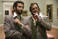 AMERICAN HUSTLE, from left: Bradley Cooper, Christian Bale, 2013. ph: Francois Duhamel/©Columbia Pictures