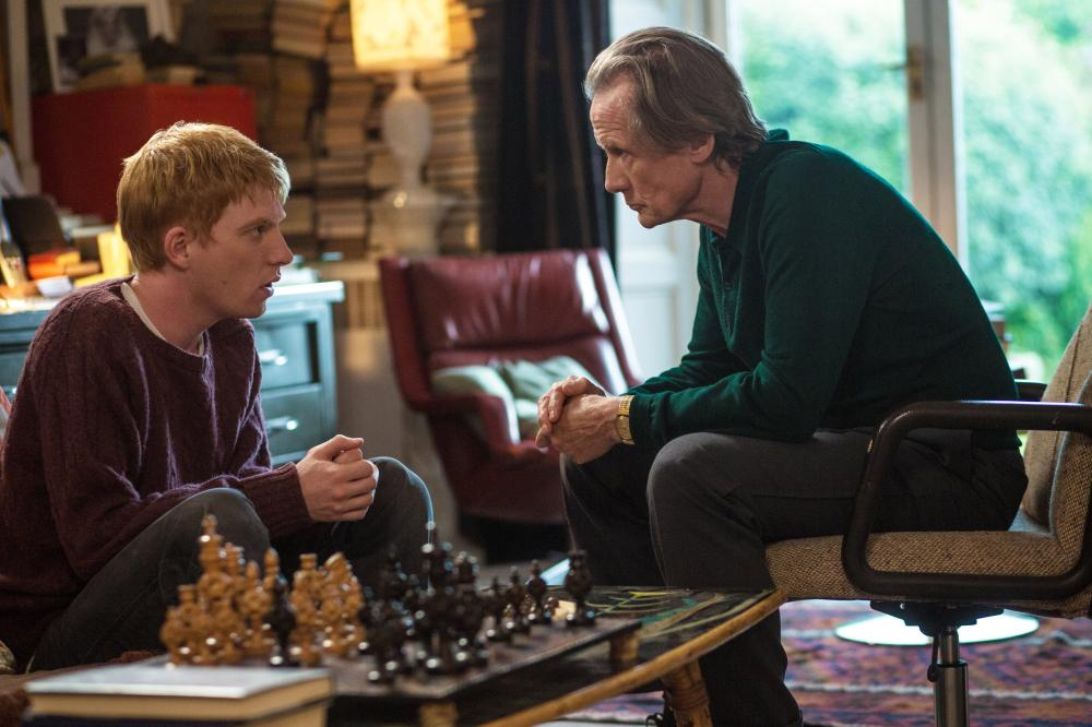 ABOUT TIME, l-r: Domhnall Gleeson, Bill Nighy, 2013, ph: Murray Close/©Universal