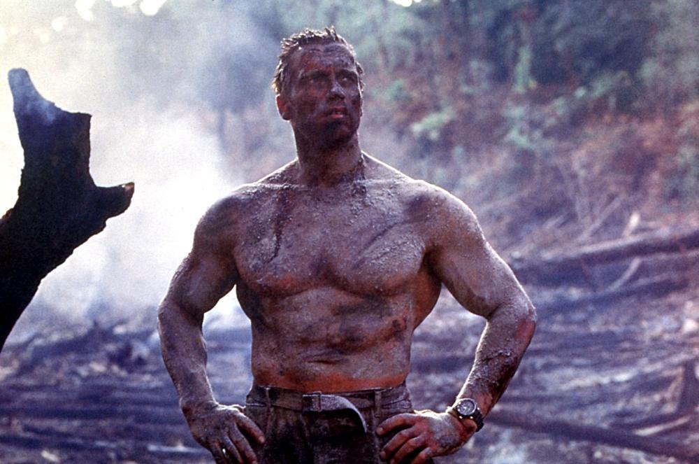 Worn By Arnold Schwarzenegger In Predator With A Bow